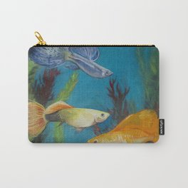 Smirking Guppies Carry-All Pouch