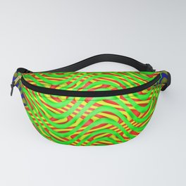 Dancing stripes ... Fanny Pack