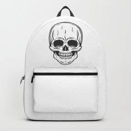 Rock and Roll Skull Skeleton Backpack