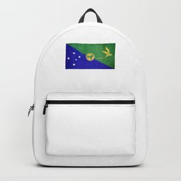Christmas Island Flag design | Christmas Islander design Backpack
