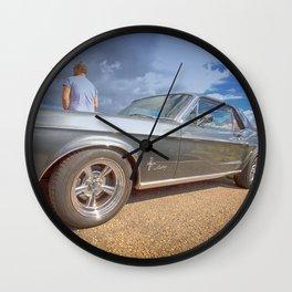 MUSTANG 302 Wall Clock