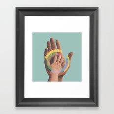 Fuck Hue Framed Art Print