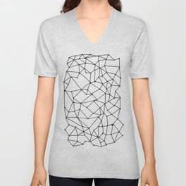 crystalline Unisex V-Neck