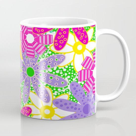 Frolicking Flowers Mug