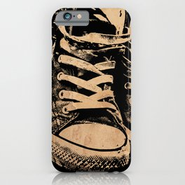 Ramones Shoes iPhone Case