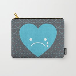 Sad Heart Carry-All Pouch
