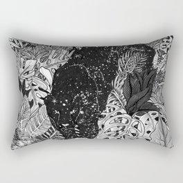 The Jungle At Night Rectangular Pillow