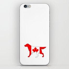 """Setter """"Canada"""" iPhone Skin"""