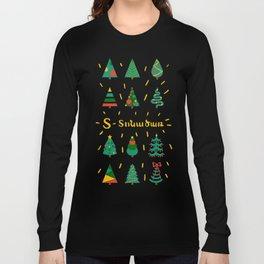 Tonatsar - Christmas tree Long Sleeve T-shirt