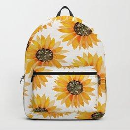Single Sunflower – Yellow Backpack