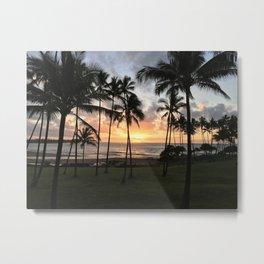 Hawaiian breeze Metal Print