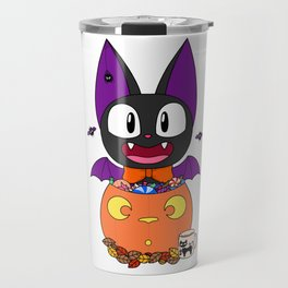 Spoopy Jiji Travel Mug