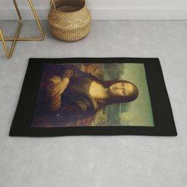 Leonardo da Vinci -Mona lisa - Rug