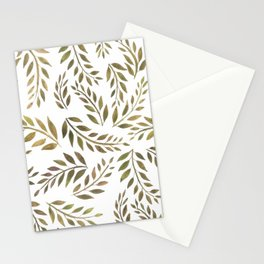 Palms & Fronds - Olive Stationery Cards