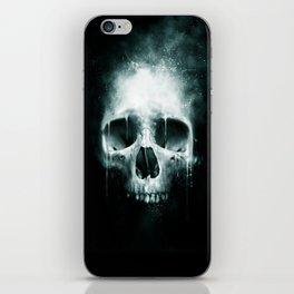 Skull Spatter iPhone Skin