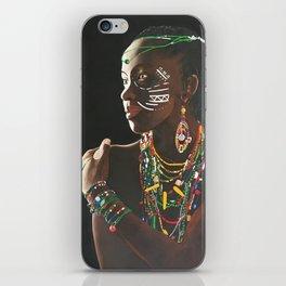 African Potrait II iPhone Skin