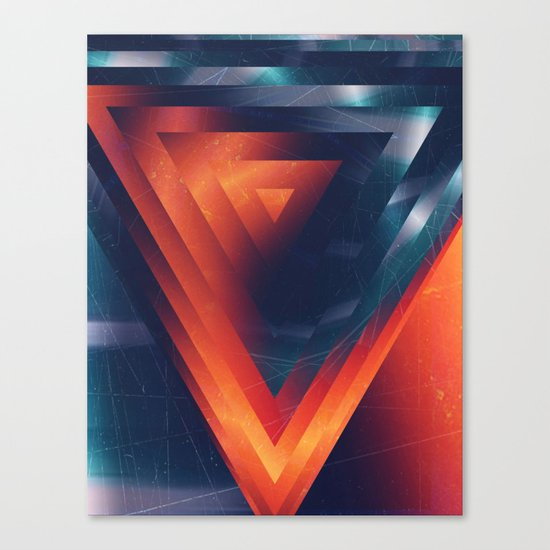 Triangled Canvas Print
