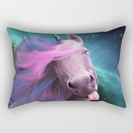 Sassy Unicorn Rectangular Pillow