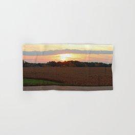 Country Morning Sunrise Hand & Bath Towel