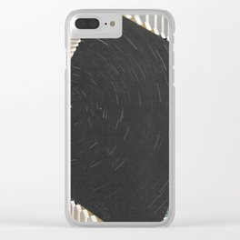 Space fencing II Clear iPhone Case