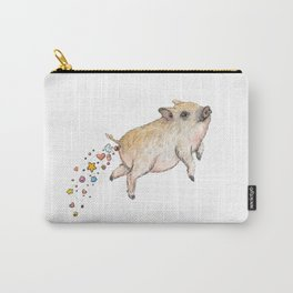 Pooping Pig Carry-All Pouch