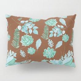 Succulent Pattern Pillow Sham