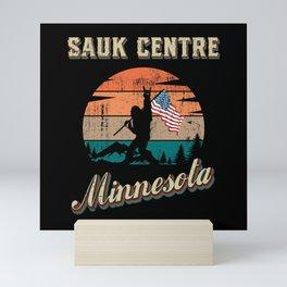 Sauk Centre Minnesota Mini Art Print