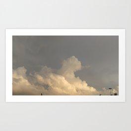 Oklahoma Sky 2 Art Print
