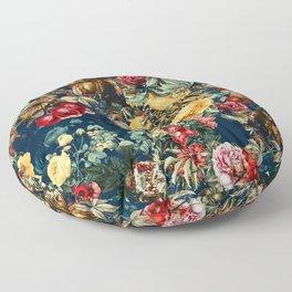 Pomegranate Garden Floor Pillow