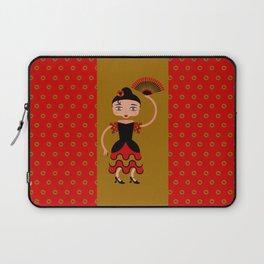 Spanish Flamengo Dancer Laptop Sleeve