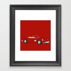 Ferrari 250 GT Califonia Spyder Framed Art Print