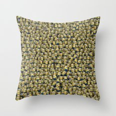 Army of little lamps Throw Pillow