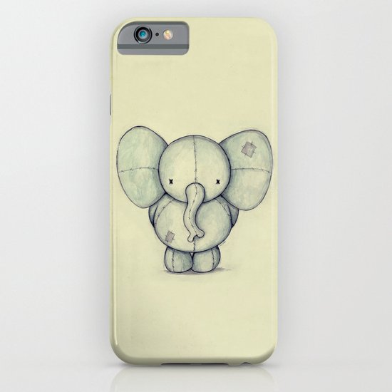 Cute Elephant iPhone & iPod Case