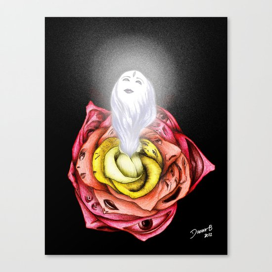 ÂME DES FLEUR Canvas Print