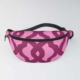 Grille No. 2 -- Magenta Fanny Pack