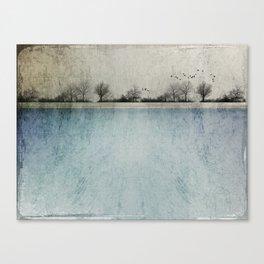 Winter Landscape - Susan Weller Canvas Print