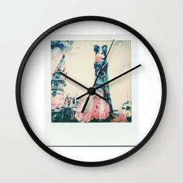 Spring In The City Wall Clock