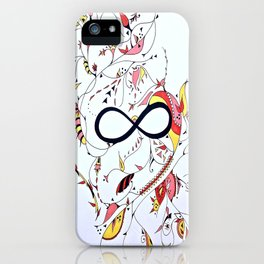 Infinity Garden iPhone Case