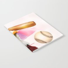 Baseball American Made By Annie Zeno Notebook