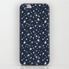 Starry night Unicorns patterns iPhone Skin