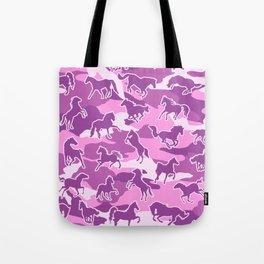 Horse Camo PINK Tote Bag