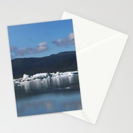 Ice by Mendenhall Glacier Stationery Cards