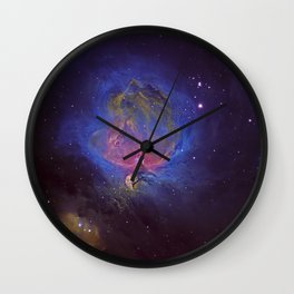 The Great Orion Nebula Wall Clock