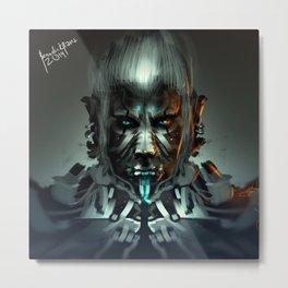Ice Troll Design B Metal Print
