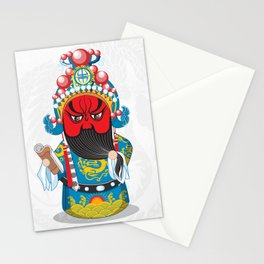 Beijing Opera Character GuanYu Stationery Cards