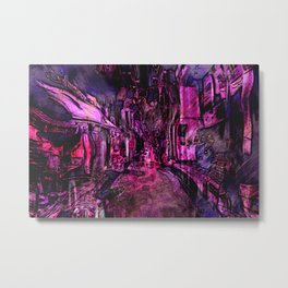 The twisted market Metal Print