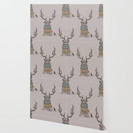 Deer Pug Wallpaper