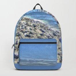 sky-blue coast Backpack