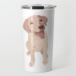 Golden (Lab) Girl Travel Mug