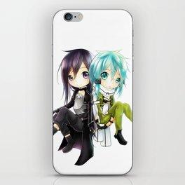 kirito and sinon iPhone Skin